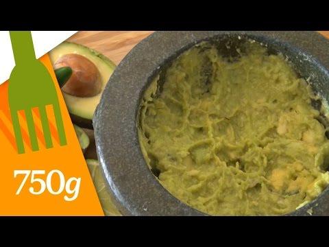 Recette du Vrai Guacamole mexicain – 750g
