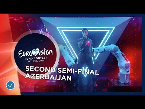 Chingiz - Truth - Azerbaijan - LIVE - Second Semi-Final - Eurovision 2019