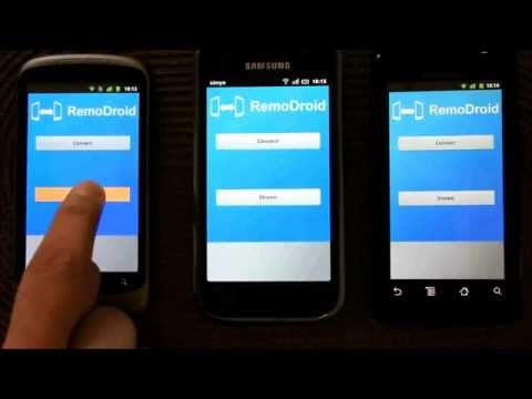 Video of RemoDroid