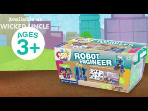 Youtube Video for Robot Engineer - 53 piece set