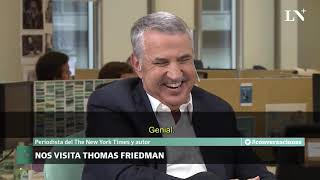Interesante entrevista a Thomas Friedman