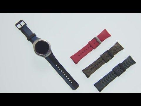 Samsung Gear S2: Armbänder wechseln