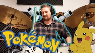 THE BEST POKEMON DRUMCOVER EVER !!!