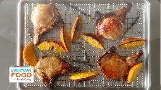 Orange-and-Honey Glazed Pork Chops – Everyday Food with Sarah Carey