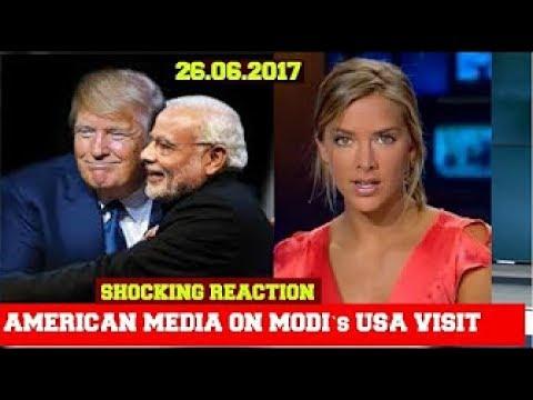 Foreign Media on Modi's  USA visit and Meet to Trump | BBC on NARENDRA MODI USA visit