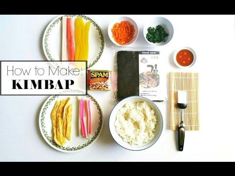 How To Make Quick & Tasty Kimbap
