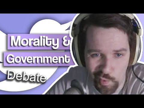Morality & Government Debate - with Twitter Fan