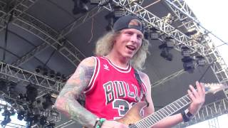 The Word Alive - Casanova Rodeo (ft. Craig Mabbitt)  Live at Pulp Summer Slam 15: Angels Descend