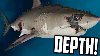 Depth - ROBOT GREAT WHITE SHARK (Funny Moments Gameplay)