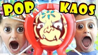 "Real Life ""Pop The Kaos Balloon"" like Skylanders Swap Force Bounce Zone (w/ Boom Boom Balloon)"
