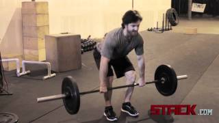 CrossFit - How to Perform the Deadlift