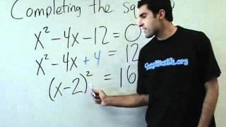 Algebra-Completingthesquare