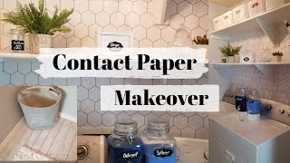 CHEAP & EASY HACK // DIY LAUNDRY ROOM MAKEOVER