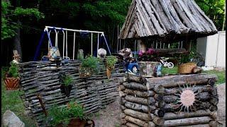 Идеи для сада своими руками  Как украсить свой сад
