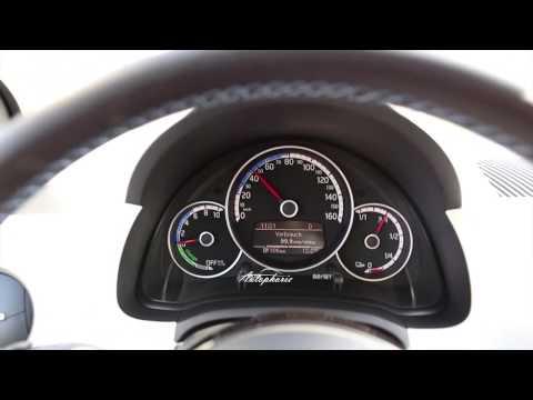 Beschleunigung / Acceleration Volkswagen e-up! 0-50km/h / 0-32mph
