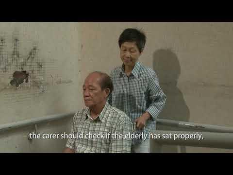 影片: Wheelchair Handling Skills of Carer