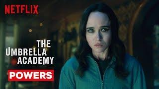 Umbrella Academy Powers   The Umbrella Academy   Netflix