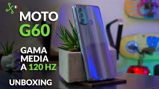 Moto G60 llega a México | UNBOXING | primeras impresiones | precio oficial