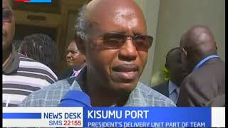 Four PS\'s tour lakeside city for a fact finding mission before launch of the refurbished Kisumu port