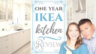 $15,000 IKEA Kitchen Review One Year Update | What We Would Change | French Country Full Remodel