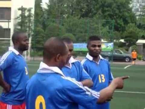 les congolais ete 2012 coree du sud : football suite