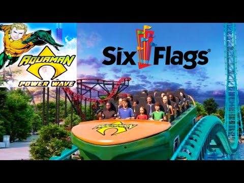 Six Flags Over Texas Aquaman Power Wave 2020 Coaster Analysis