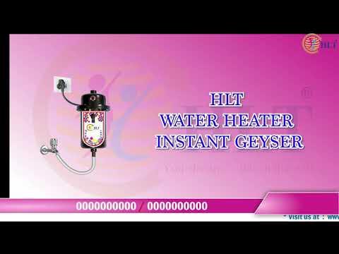 HLT MCB Instant Geyser