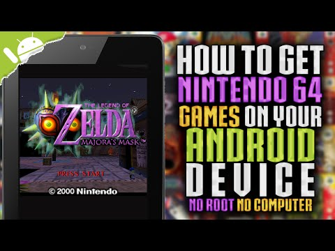 Vídeo do MegaN64 (N64 Emulator)