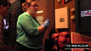 Artifact Installation Time Lapse: The Mob Museum