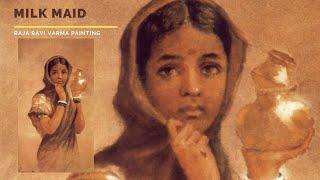 Milk Maid by Raja Ravi Varma