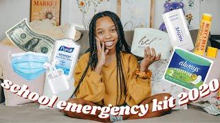 Back To School Emergency Kit 2020 | Just Jordyn | Back To School