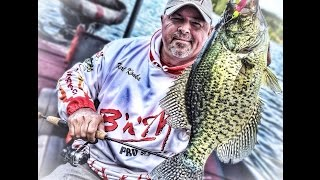 Catching crappie with the Spin Baby spinnerbait