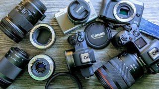 Canon Objektive, Adapter und Kameras: Tipps und wie alles zusammenpasst