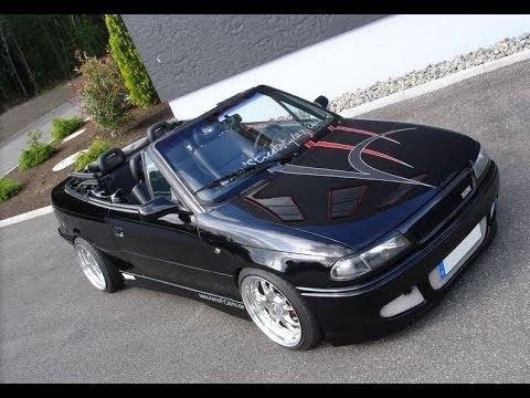 Откидная крыша Opel Astra F Cabrio
