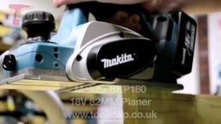 Makita BKP180 Cordless 18V Planer