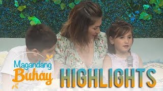 Magandang Buhay: Caleigh and Jared express their excitement to meet their Kuya Andre Paras