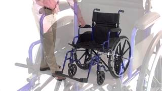 E&J Navigator Wheelchair Transport Chair