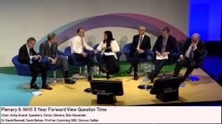 NHS 5YFW Question Time - with CEOs from the six national bodies #confed2015