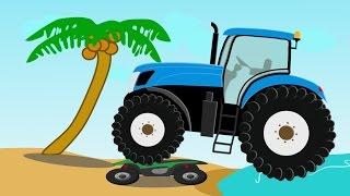 Monster Tractor Traktor Stunt | Bajki i Demolka