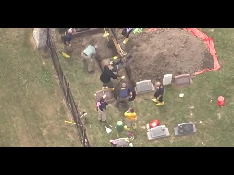 Families demand answers as search wraps up at Detroit's Gethsemane Cemetery
