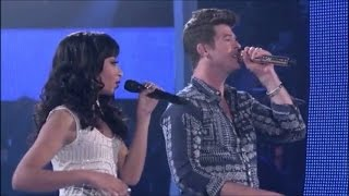 Robin Thicke & Olivia Chisholm: Where Is The Love? (Coaching + Performance)