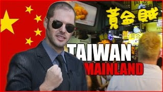 Taiwan vs. Mainland China