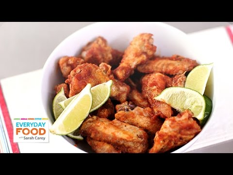 Fiery Salsa Hot Wings – Everyday Food with Sarah Carey