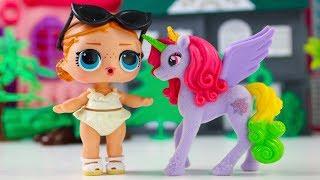 КуКлЫ ЛОЛ Сюрпризы Свит Бокс Пони Сладкоежки Мультики для детей Игрушки для девочек LOL Surprise
