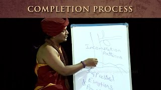 Completion process for health, wealth, relationships and enlightenment