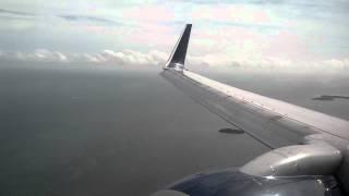 Hard Landing in Key West - Delta Air Lines 737-700