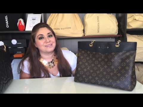 Louis Vuitton Pallas Shopper Review