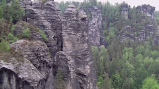 preview picture of video 'Rundumblick BASTEIBRÜCKE'