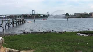 Boat Almost Tips Over Capsize In Long Island Sound