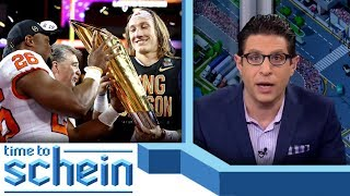 Would Trevor Lawrence be first pick in the Draft? | Time to Schein